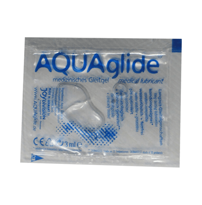 Joy Division Aquaglide Medical Lubricant Sachet Pack of 2