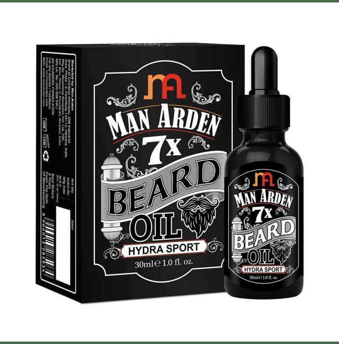 Man Arden 7X Beard Oil Hydra Sport