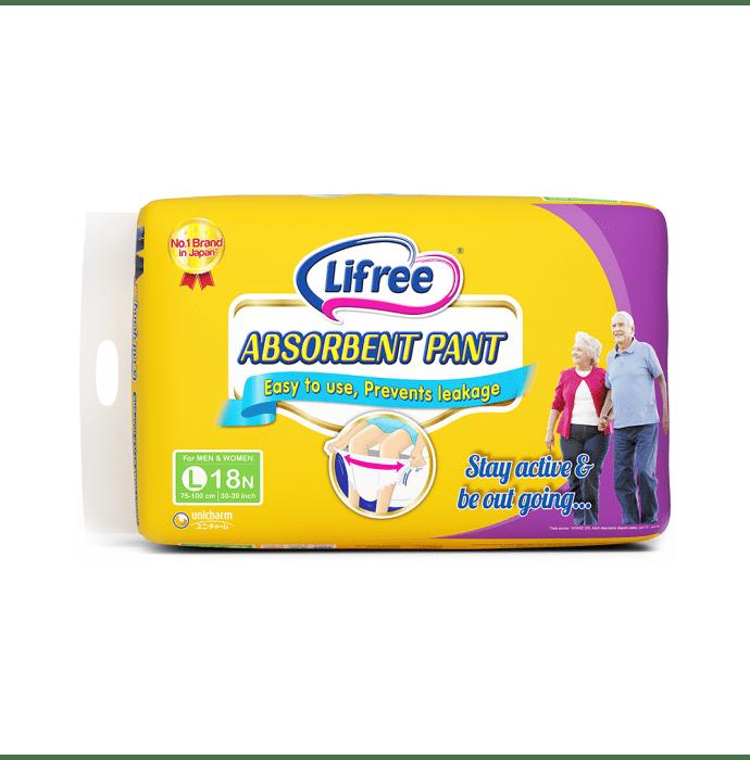 Lifree Adult Absorbent Pant L