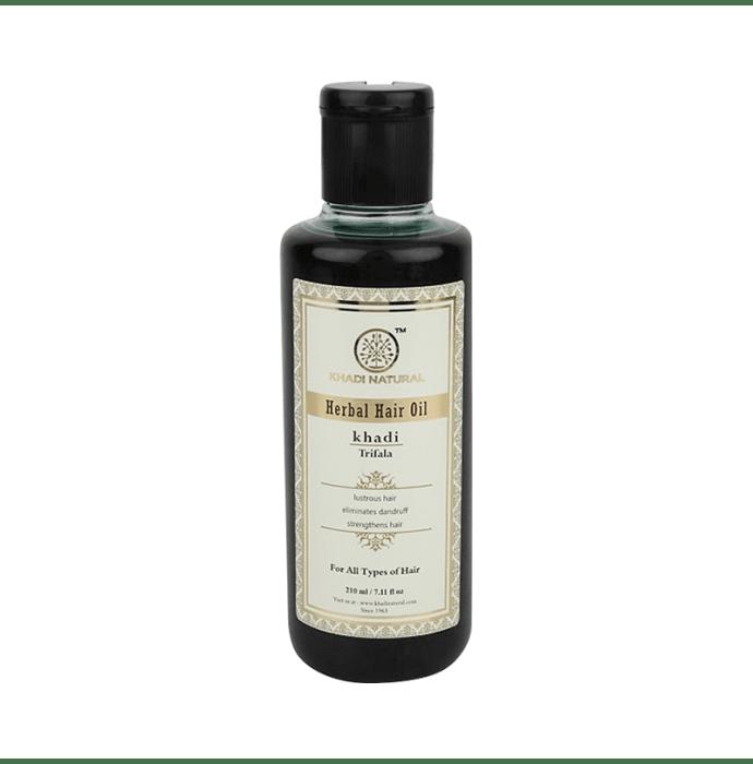 Khadi Naturals Ayurvedic Trifala Hair Oil