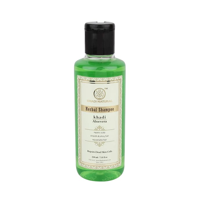 Khadi Naturals Ayurvedic Aloevera Hair  Cleanser Pack of 2