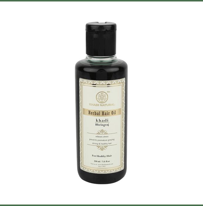 Khadi Naturals Ayurvedic Bhringraj Hair Oil