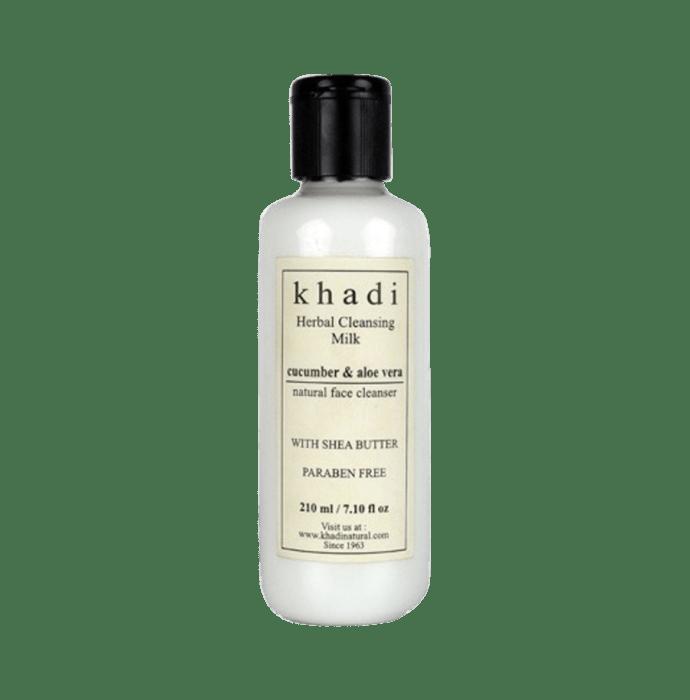 Khadi Naturals Ayurvedic Cucumber & Aloevera Cleansing Milk