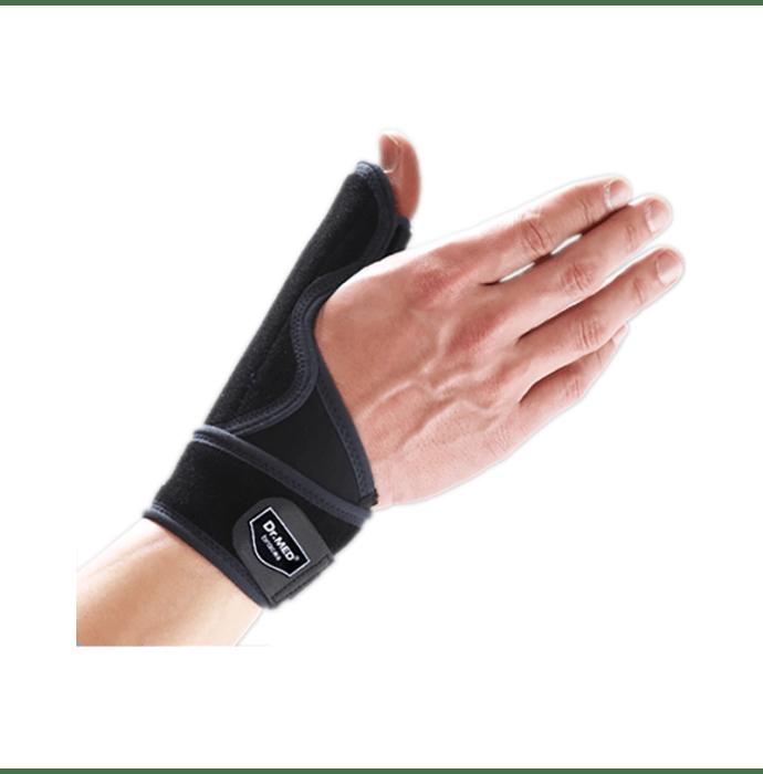 Dr MED Wrist Thumb Splint DR-W132-3 Universal Black Left