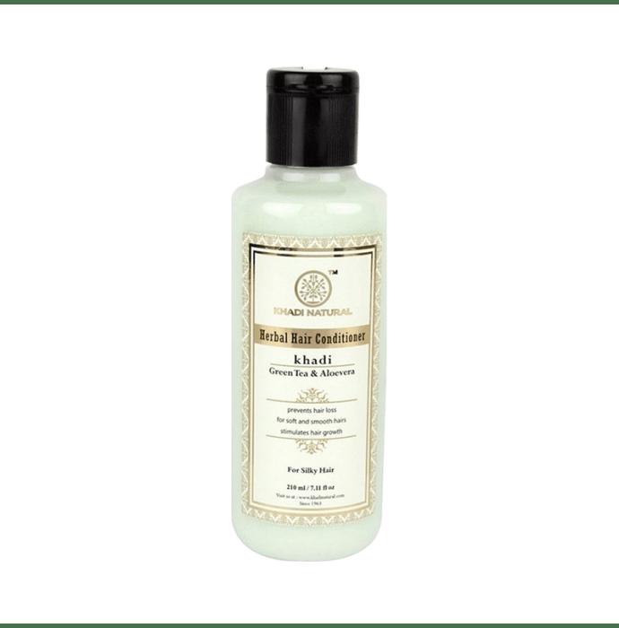 Khadi Naturals Ayurvedic Green Tea & Aloevera Hair Conditioner