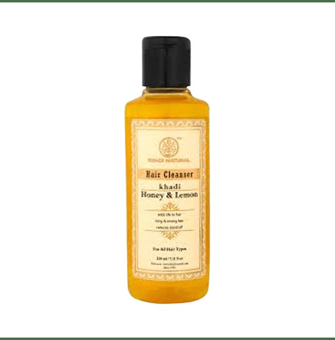 Khadi Naturals Ayurvedic Honey & Lemon Hair Cleanser