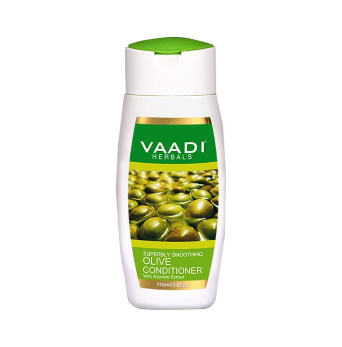 Vaadi Herbals Value Pack of Olive Conditioner with Avocado Extract Pack of 3