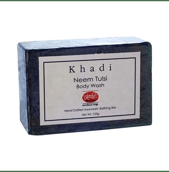 Khadi Mauri Herbal Neem Tulsi Soap