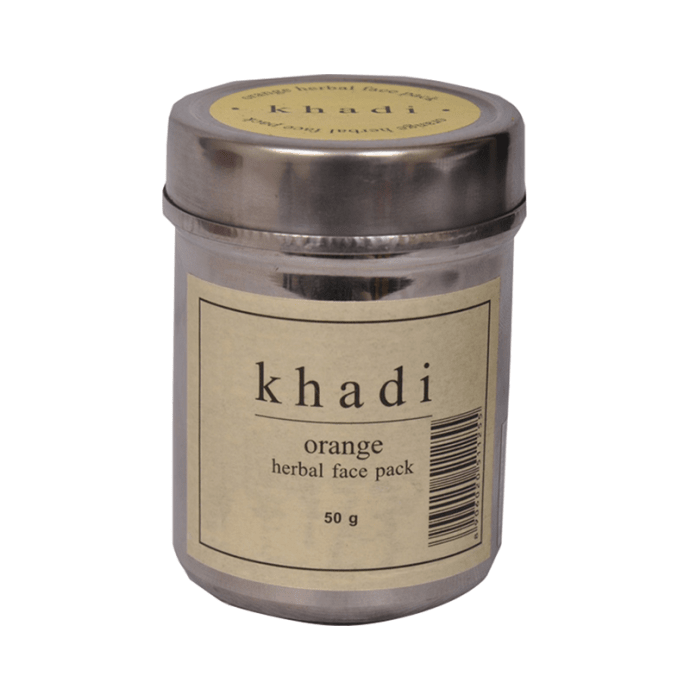 Khadi Naturals Orange Herbal Face Pack Pack of 3