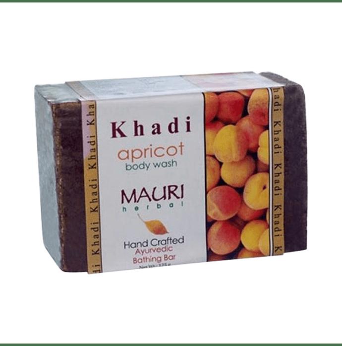 Khadi Mauri Herbal Apricot Soap Pack of 2
