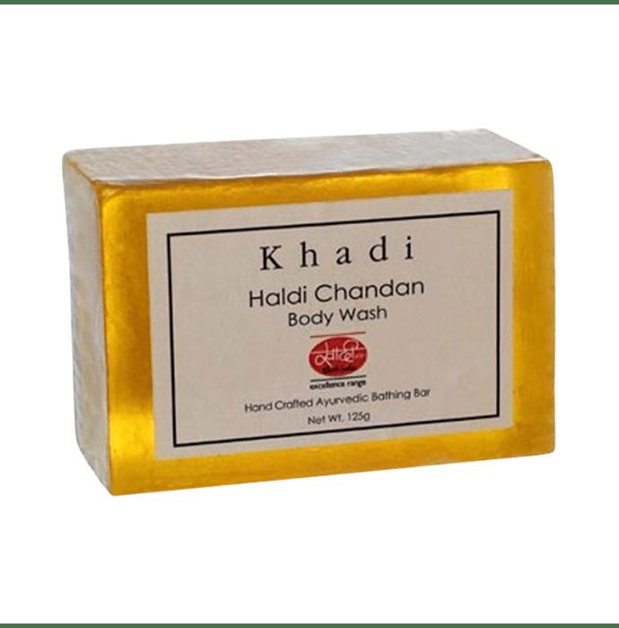 Khadi Mauri Herbal Haldi Chandan Soap