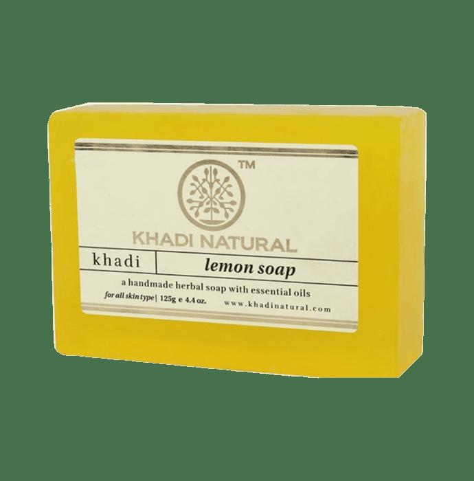Khadi Naturals Aurvedic Lemon Soap