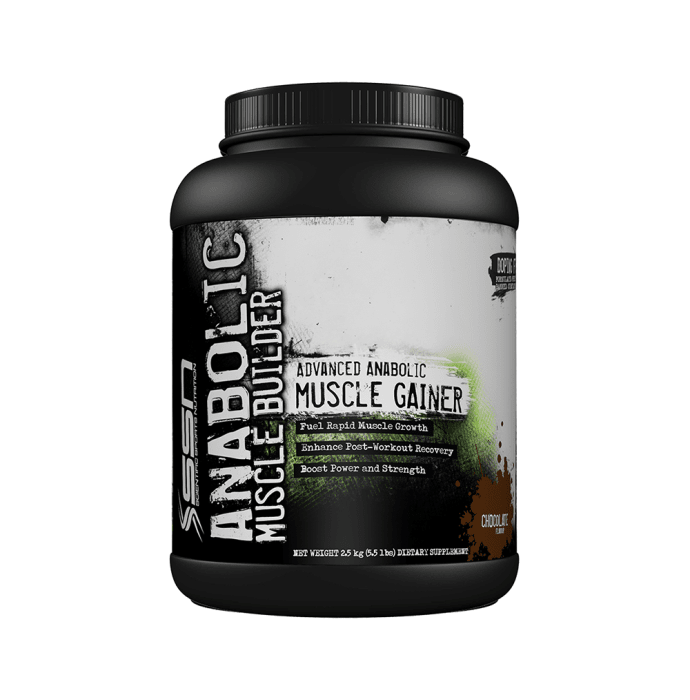SSN Anabolic Muscle Builder Chocolate