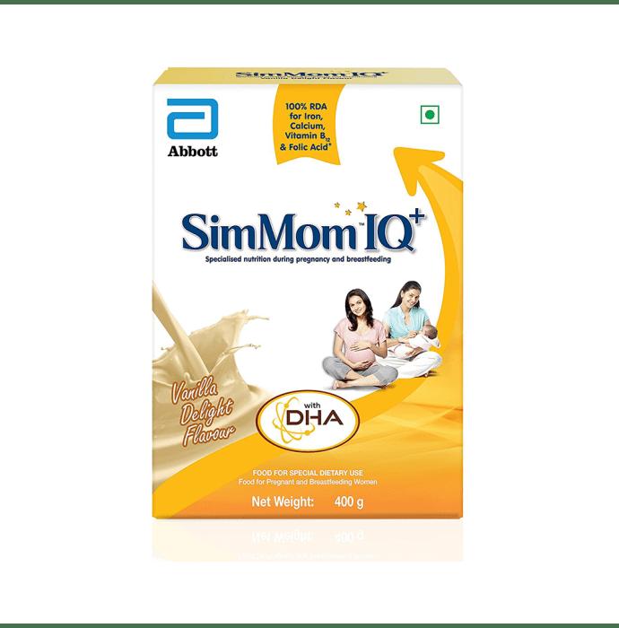 SimMom IQ Plus Powder Vanilla delight
