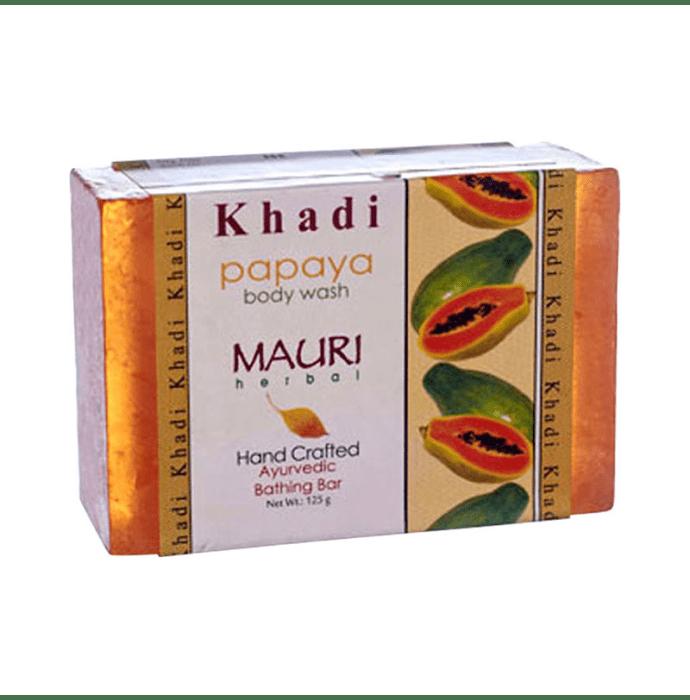 Khadi Mauri Herbal Papaya Soap