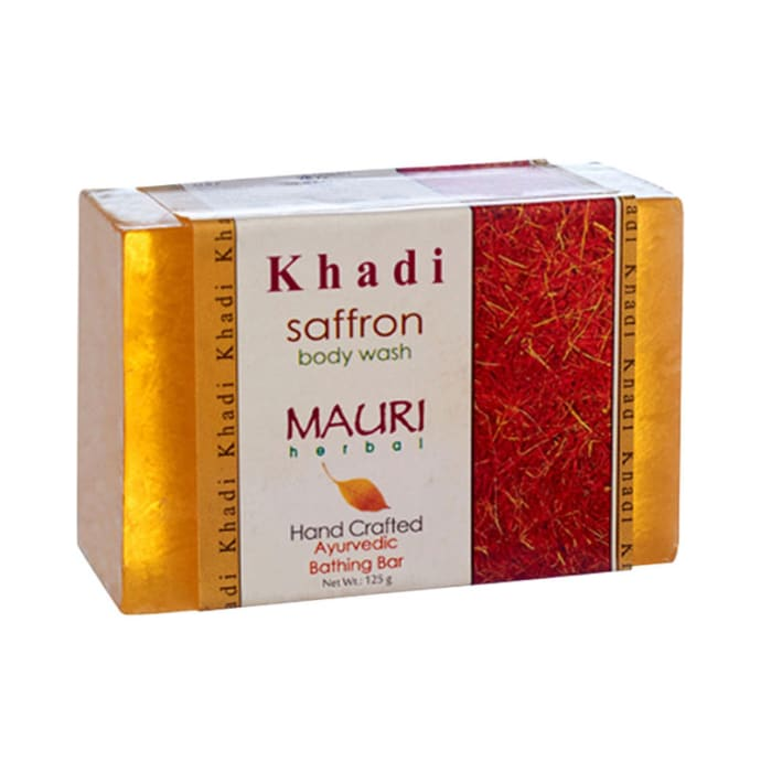 Khadi Mauri Herbal Saffron Soap