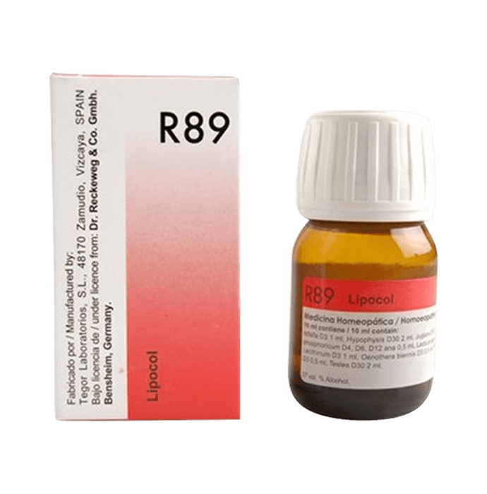 Dr. Reckeweg R89 Hair Care Drop Pack of 2