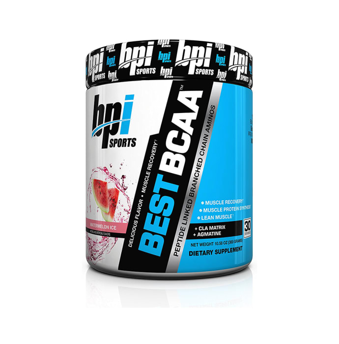 BPI Sports Best BCAA Powder Watermelon Ice