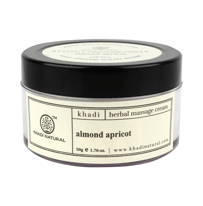 Khadi Naturals Ayurvedic Almond & Apricot Massage Cream Pack of 2