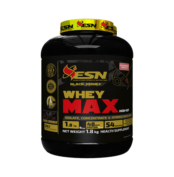 ESN Whey Max Strawberry Souffle