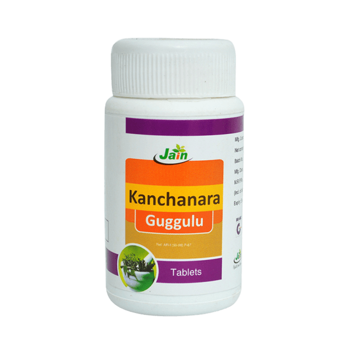 Jain Kanchanara Guggulu Tablet Pack of 2
