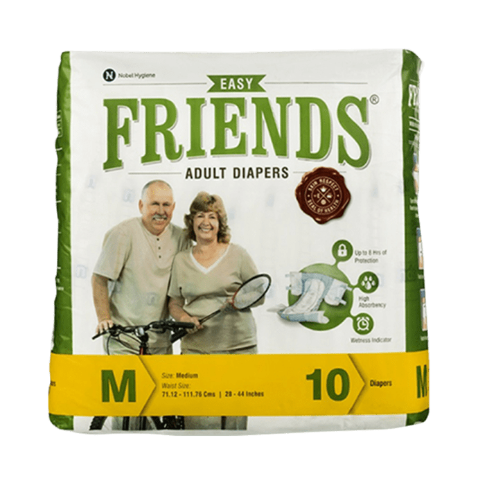 Friends Easy Adult Diaper M Pack of 2