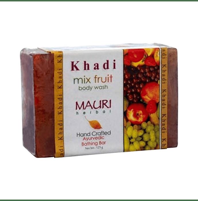Khadi Mauri Herbal Mix Fruit Soap