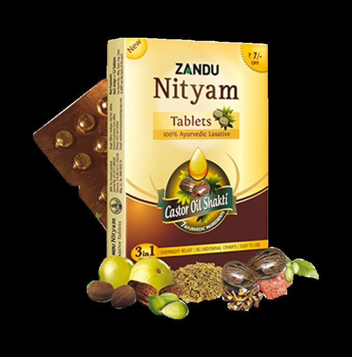 Zandu Nityam Tablet Pack of 4