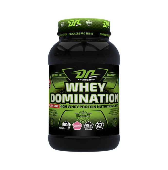 DOMIN8R Whey Domination Powder Strawberry