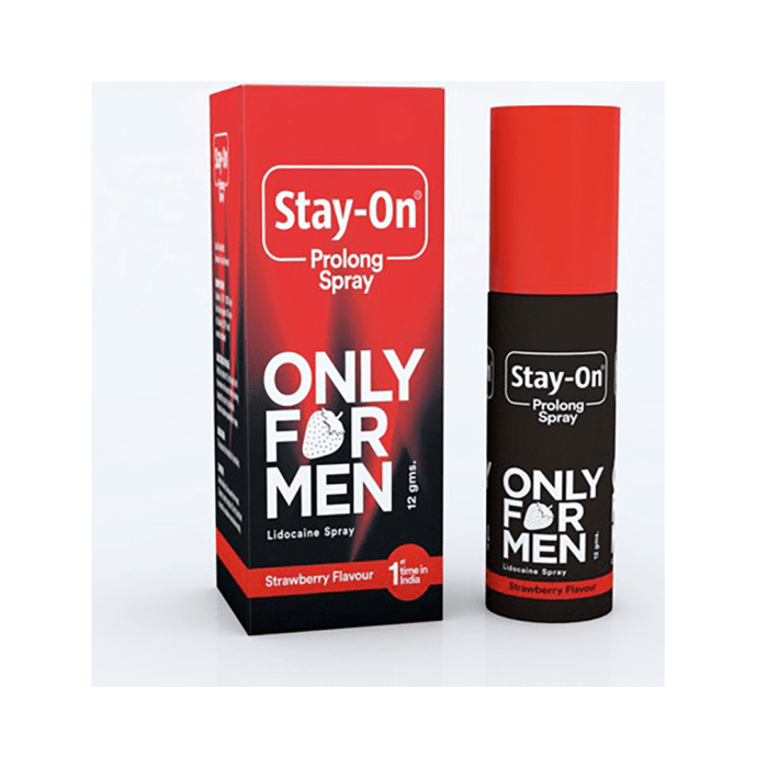 Stay-On Prolong Spray Strawberry