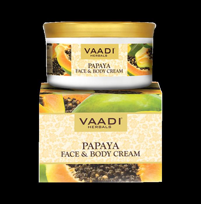 Vaadi Herbals Value Pack of Papaya Face & Body Cream Pack of 3