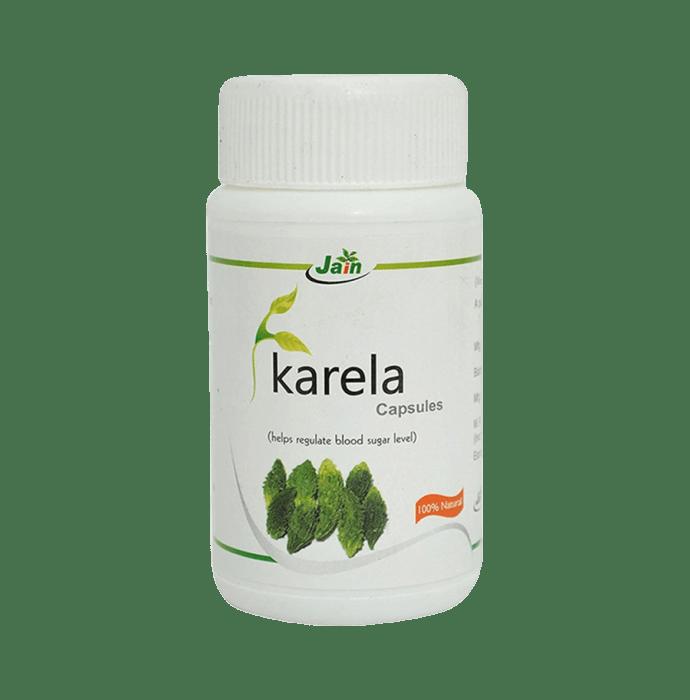 Jain Karela Capsule Pack of 2