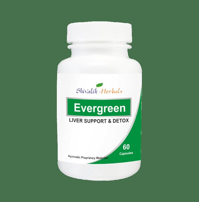 Shivalik Herbals Evergreen 500mg Capsule Pack of 2