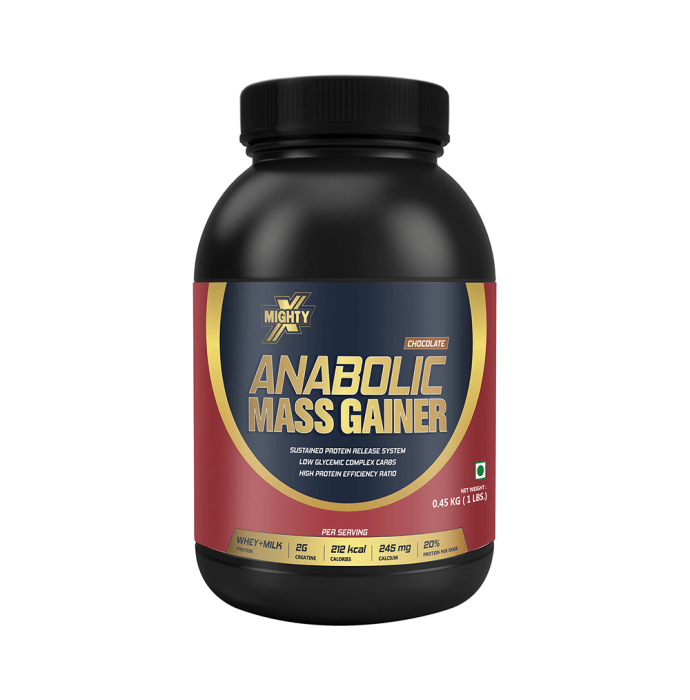 MightyX Anabolic Mass Gainer Chocolate