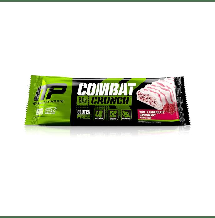 Muscle Pharm Combat Crunch Bars (63g Each) White Chocolate Raspberry