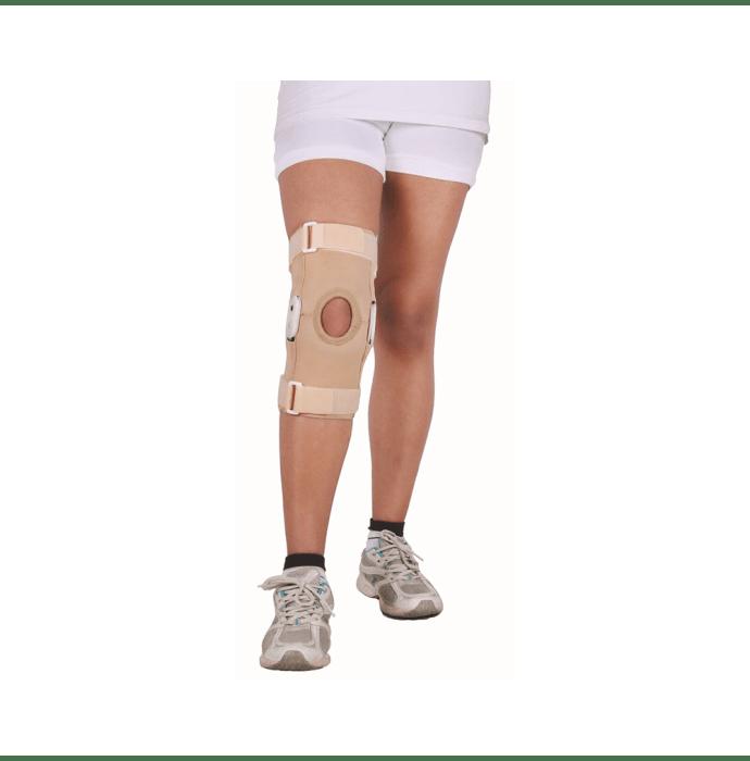 Wellon KS-02 Hinged Knee Support Open Patella L