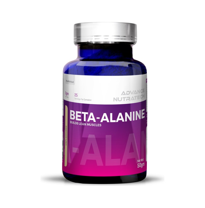 Advance Nutratech Beta-Alanine Pre-Workout Powder Unflavoured