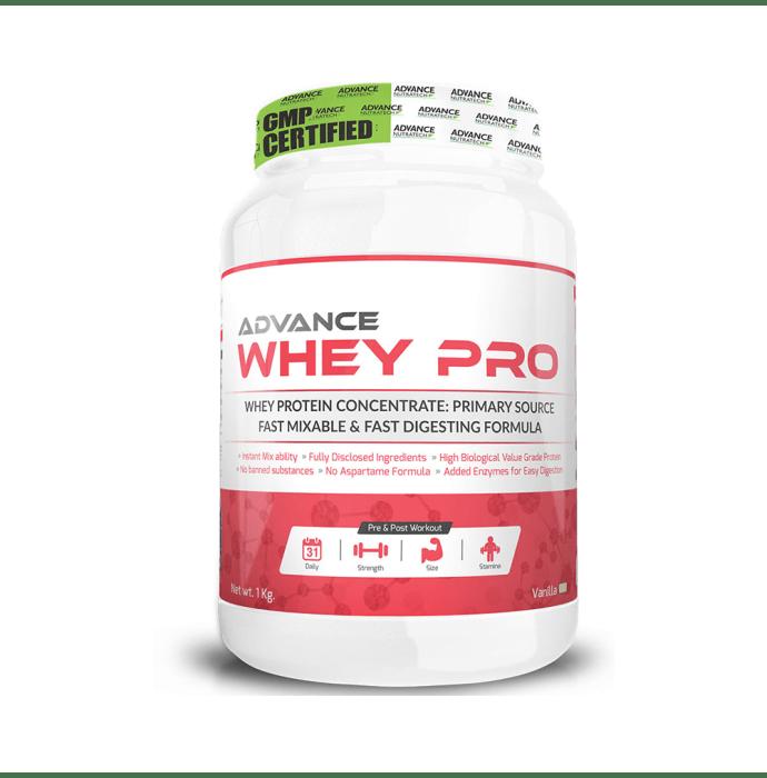 Advance Nutratech Whey Pro Protein Powder Vanilla