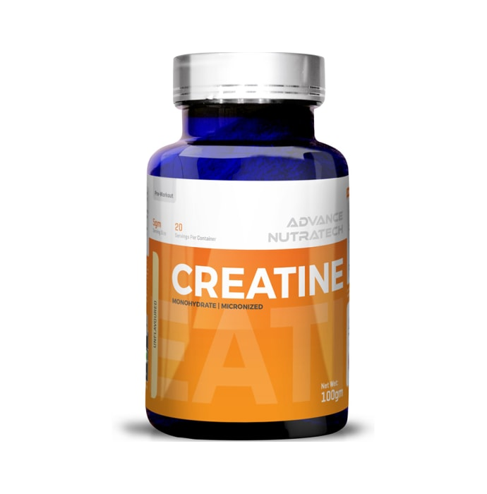 Advance Nutratech Creatine Monohydrate Powder Unflavoured