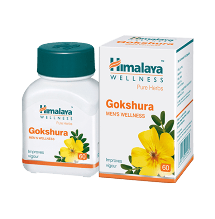 Himalaya Wellness Pure Herbs Gokshura Tablet Pack of 2
