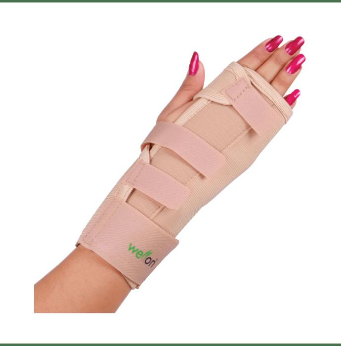 Wellon Elastic Wrist Splint WB-02 S Left