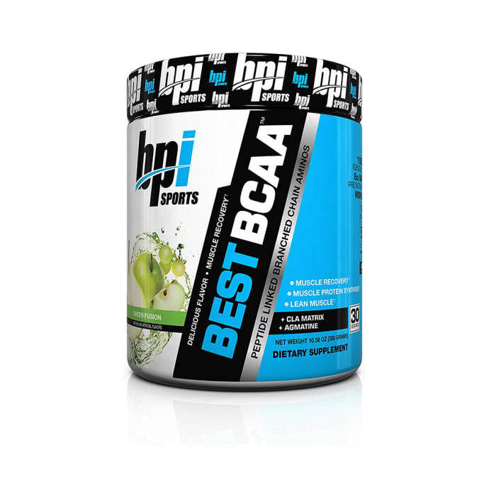 BPI Sports Best BCAA Powder Green Fusion