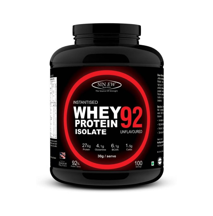 Sinew Nutrition Raw Whey Isolate 92% Unflavoured