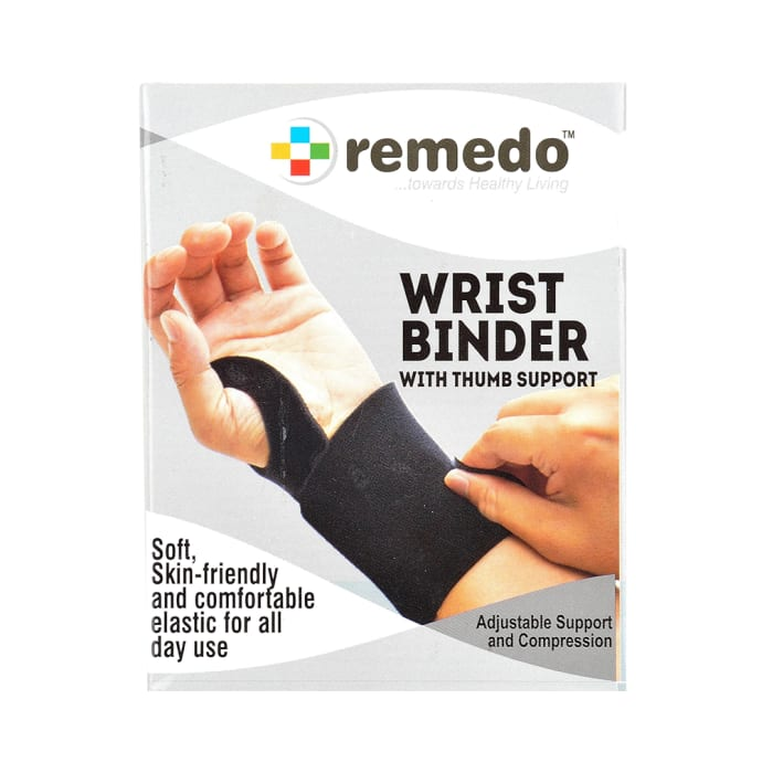 Remedo Wrist Binder with Thumb Support Universal