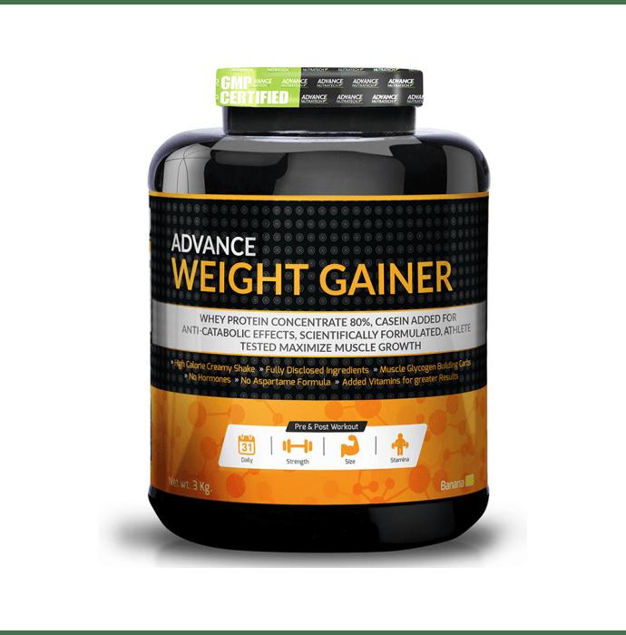 Advance Nutratech Weight Gainer Powder Banana