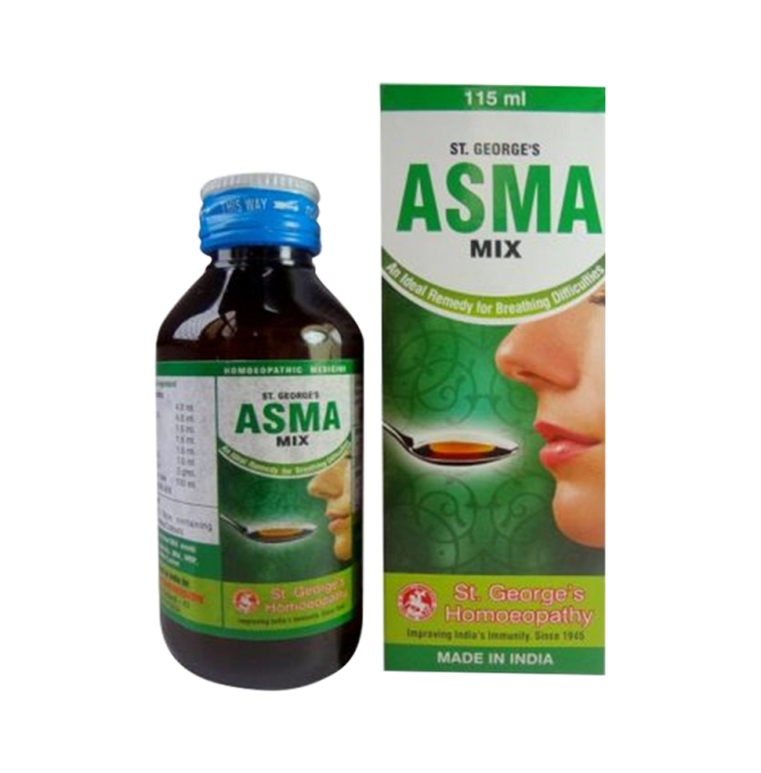 St. George's Asma Mix Syrup Pack of 2