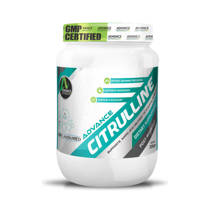 Advance Nutratech Citrulline Post-Workout Powder Unflavoured