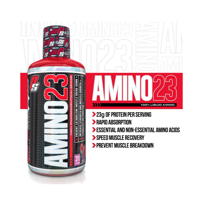Pro Supps Amino 23 Liquid Amino Plus Vanilla