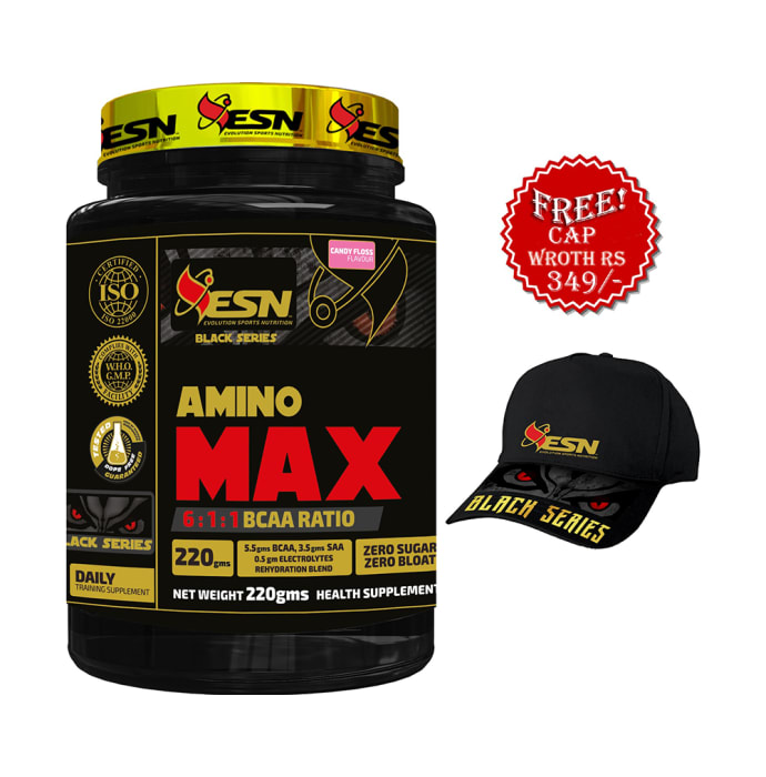 ESN Black Series Amino Max Powder Candy Floss