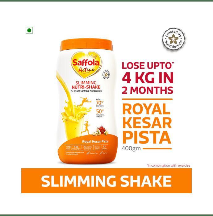 Saffola Active Slimming Nutri-Shake Royal Kesar Pista
